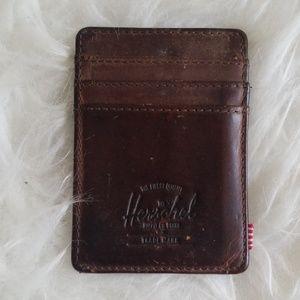 Hershel RFID Leather Money Clip Wallet